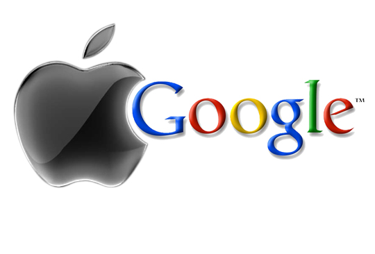 Apple y Google en batalla