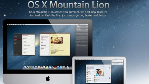 Mountain Lion Apple
