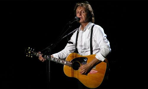 Paul McCartney transmitirá un concierto por iTunes y AppleTV