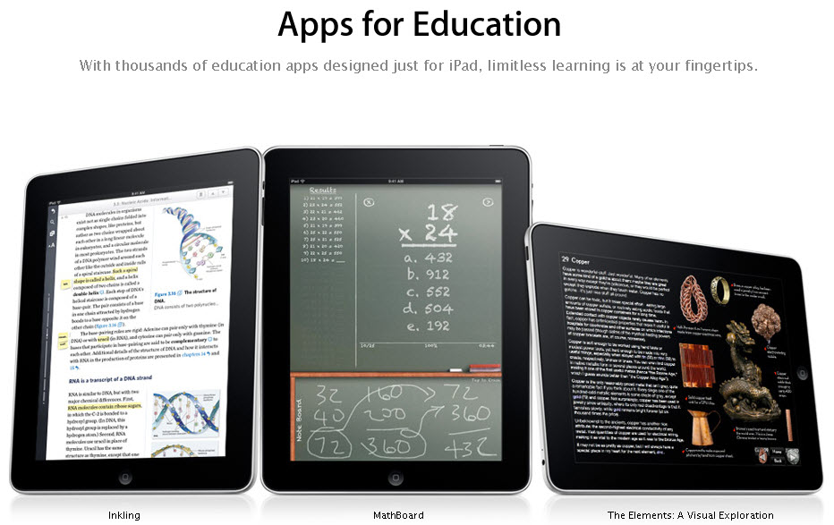 Apps educativas en tu iPad