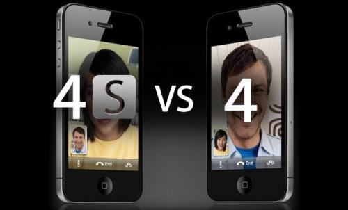 iPhone 4 y iPhone 4S casi gemelos idénticos