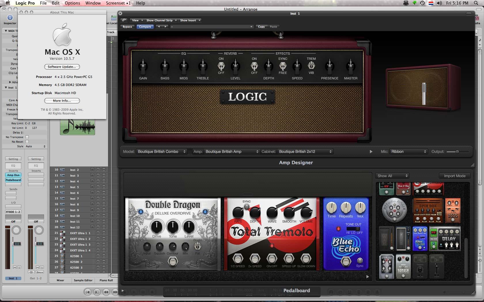 Logic Pro9