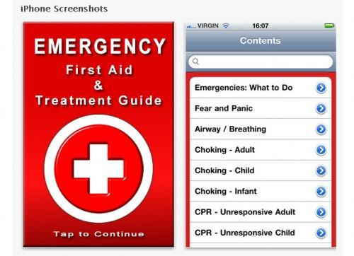 iPhone capacita en primeros auxilios