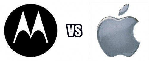 Apple pelea con Motorola
