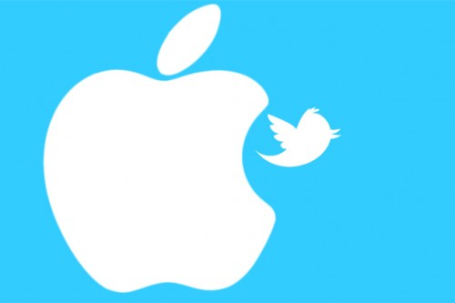 Apple considera invertir en Twitter